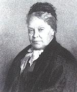 Marie von Ebner-Eschenbach von L. Michalek; Schloss Lissitz