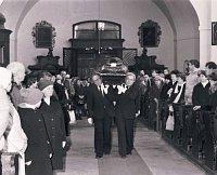 Begräbnis des Dichters Jaroslav Seifert