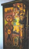 Josef Vachal's painting, Portmoneum, Litomysl