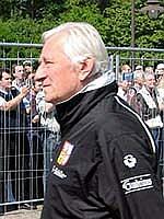 Trenér Karel Brückner, foto: Ondřej Prokop / ČRo