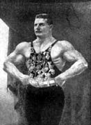 Richard Fritensk is the distant nephew of a famous pre-war wrestler Gustav Fritensk