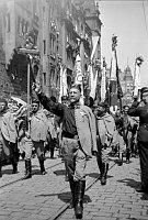Všesokolský slet vroce 1938 byl posledním před druhou světovou válkou