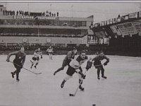 Хоккейный матч на пражском стадионе Штванице, 1931г.