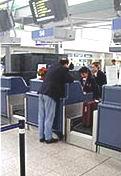 Odbavení na letišti v Ruzyni