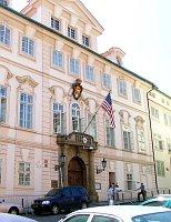 Budova velvyslanectví USA vPraze