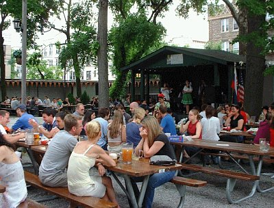 Traditional Czech Beer Garden In Astoria Drawing Huge Crowds From All Over Nyc Radio Prague