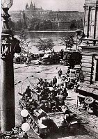 The liberation of Prague in 1945