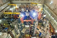 JET tokamak in Culham, UK