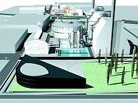 Visualización del centro científico en Vítkovice