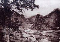 Landschaft bei Dong Khe