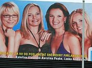 In 2010, The Public Affairs Party had quite a lot of female candidates