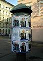 Wahlkampagne in Prag