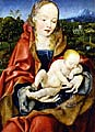 Madonna avec l'enfant, Joos van Cleve