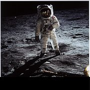 Buzz Aldrin sur la Lune, photo: NASA