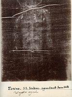 Secundo Pia, Le suaire de Turin, 1898, photo: Musée de l'Élysée