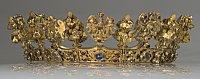 La couronne qu'aurait portée Elisabeth au moment du couronnement