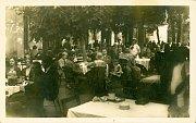 Le restaurant 'U České koruny' dans le parc de Hvězda