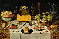 Nicolaes Gillis: Gedeckter Tisch