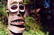 Totems were popular in chata colonies of the 20s