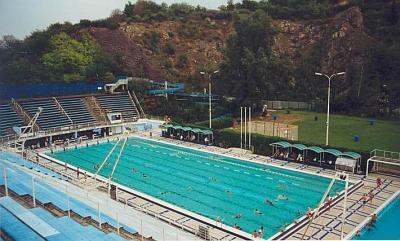 Teplý bazén praha