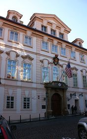 US embassy in Prague, photo: Czech Radio - Radio Prague