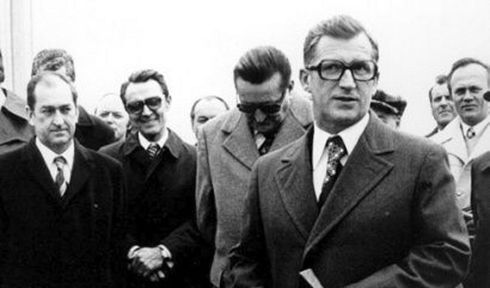 Lubomír Štrougal (a la derecha), foto: archivo de Radiodifusión Checa
