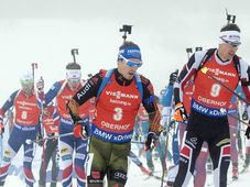 Biathlon à Oberhof, photo: ČTK