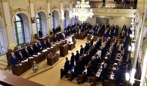 Lower house of Czech Parliament, photo: CTK