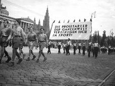 Arbeiterolympiade in Wien 1931 (Foto: Public Domain)