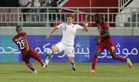 Czech Republic - Qatar, photo: CTK