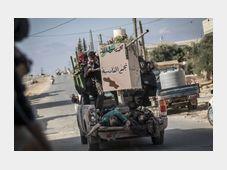 Boje v Sýrii, foto: ČTK