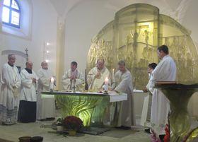 Patrozinum-Gottesdienst in Dobrá Voda (Foto: Martina Schneibergová)
