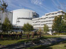 Réacteur à haut flux de l'Institut Laue-Langevin, photo: Magdalena Hrozínková