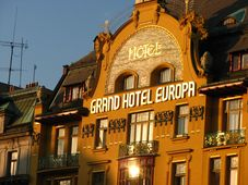 Grand Europa Hotel, photo: Kristýna Maková