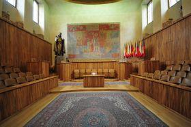 Historická aula Univerzity Karlovy, foto: Ralf Roletschek, CC BY-NC-ND 3.0