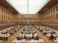 Zentralbibliothek der Dresdner Staatsbibliothek (Foto: SLUB Dresden / Henrik Ahlers, CC BY-SA 2.0)