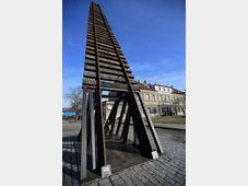 Le monument 'La Porte du non-retour', photo: ČTK