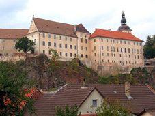 The castle in Bechyně
