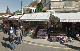 Vietnamesische Läden in Potůčky (Foto: Google Street View)