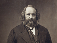 Mikhaïl Bakounine, photo: Nadar