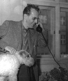 Zdeněk Jirotka, photo: Archives de ČRo