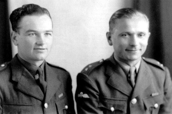 Jan Kubiš, Jozef Gabčík, photo: archive of Military History Institute Prague and Eduard Stehlík