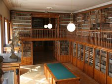 Kinski Palace library, photo: archive of National Museum
