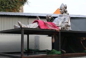 La statue de saint Adalbert, photo: ČTK