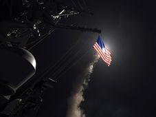 Ракетный удар США по сирийской авиабазе «Шайрат», Фото: ЧТК