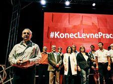 Le congès de la Confédération tchéco-morave des syndicats (ČMKOS), photo: Jiří Turek & Jana Jabůrková / Facebook de ČMKOS