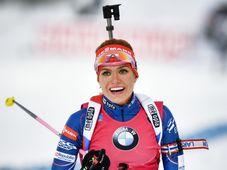 Gabriela Koukalová, photo: ČTK
