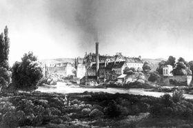 La refinería en el monasterio de Zbraslav, foto: Zbraslav historie.info