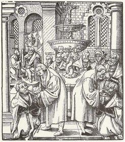 Martin Luther und Jan Hus
