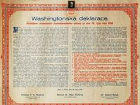 Tschechoslowakische Unabhängigkeitserklärung